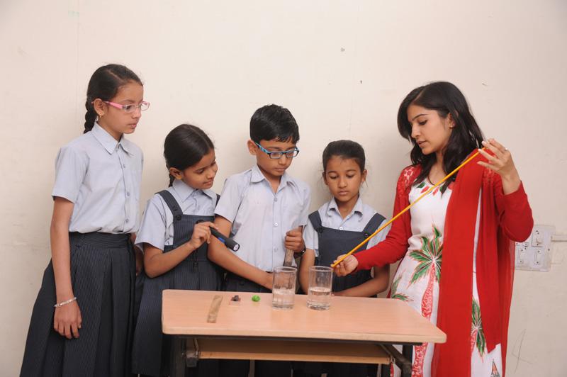 Practical training in school