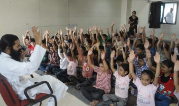 Kids meditation yoga in indore